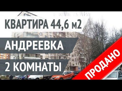 Обзор 2 комнатной квартиры в Андреевке Солнечногорского района