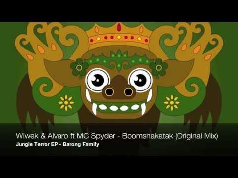 Wiwek & Alvaro- Boomshakatak Ft. MC Spyder (Original Mix)