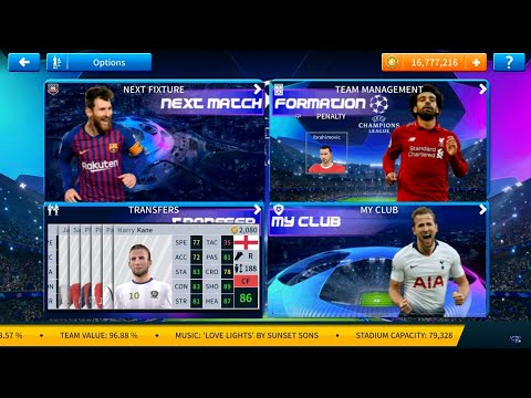 DLS 19 MOD UEFA CHAMPIONS LEAGUE Edition Android Offline 350mb Best  Graphics #3
