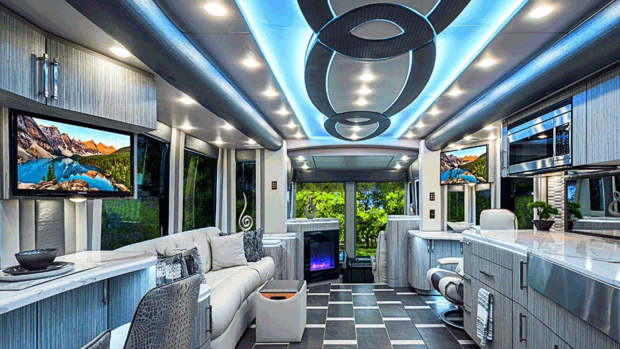 Top 10 Most Luxurious RVs in the World - YouTube
