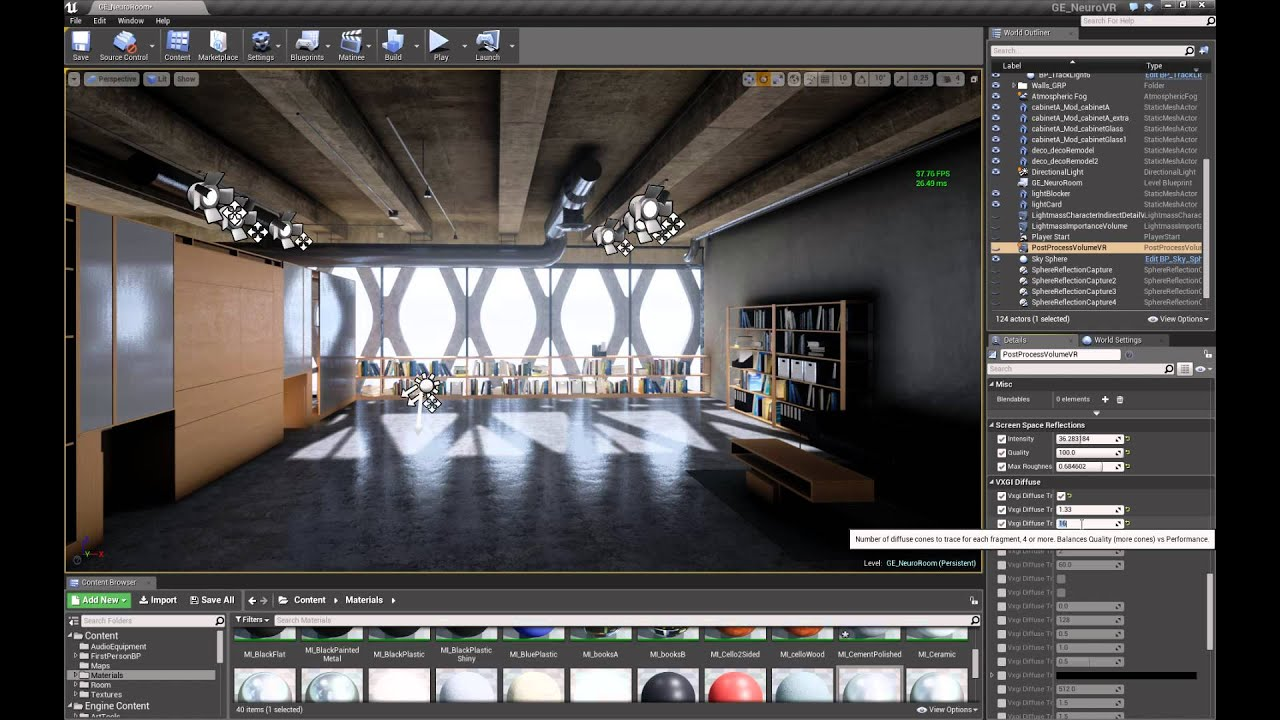 Nvidia VXGI in UE4 - Early Testin' by Andrew Weidenhammer