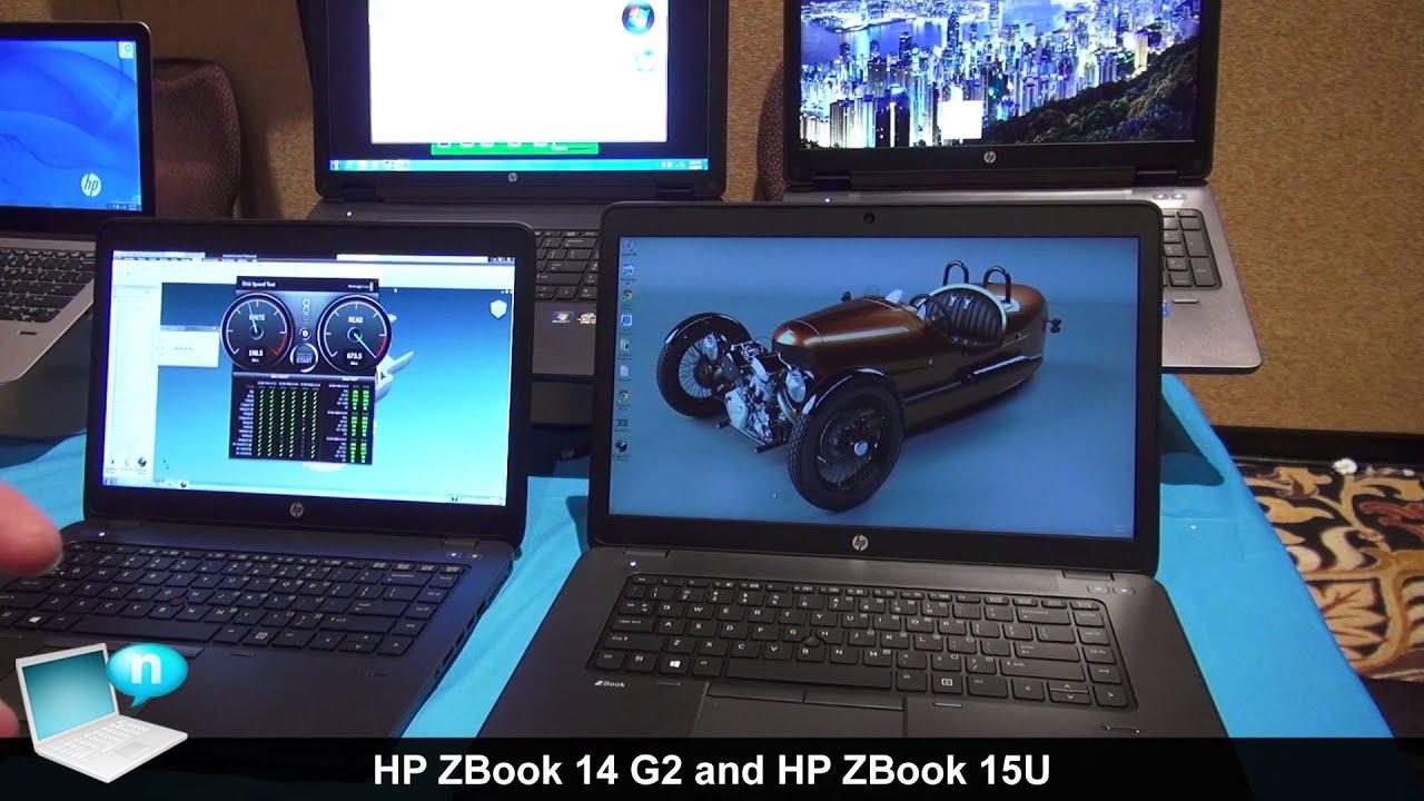 Hp Zbook 14 G2 And Zbook 15u Youtube