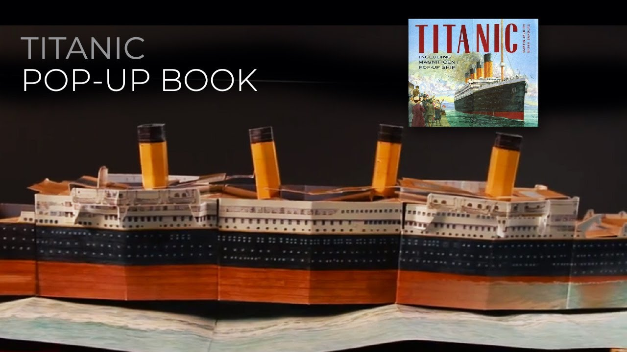 Libro Titanic Titanic Pop Up Book