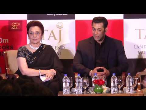 "Salman Khan Unveiling Of Asha Parekh's Autobiography ""The Hit Girl"""