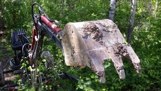 Custom Made Mini Excavator - Backhoe - Testing The Limits