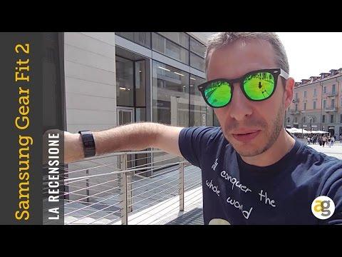 Samsung Gear Fit 2 la recensione