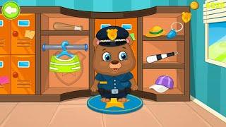 Let's Play • Kids policeman • dla dzieci, Jak być policjantem, Radiowóz, Bajki, Gry dla dzieci