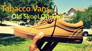 vans old skool tobacco
