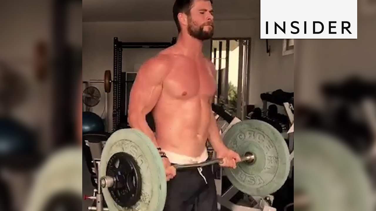 5bb58ebe4a1 Chris Hemsworth s Workout Routine To Get In Shape To Play Thor - YouTube