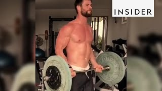 Chris Hemsworth's Workout Routine To Get In Shape To Play Thor