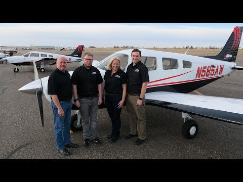Aims Aviation Receives New Piper Archer III TX Aircraft