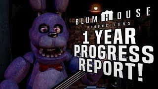 FNaF Movie || 2018 Progress Report