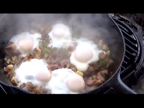 How To Cook Breakfast In One Cast Iron Skillet  One Skillet Breakfast To Die For