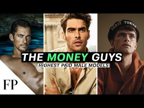 Top 10 Highest Paid MALE MODELS