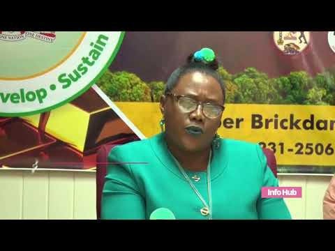 Minister Of Natural Resources Simona Broomes Will Address Mining Syndicate's Issues