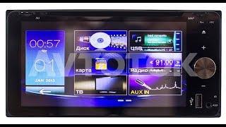Штатная магнитола Toyota универсальная 2DIN (200x100мм) Windows CE без GPS NE-6952