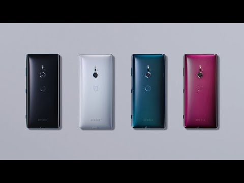 Xperia XZ3 – A beautiful curved glass design