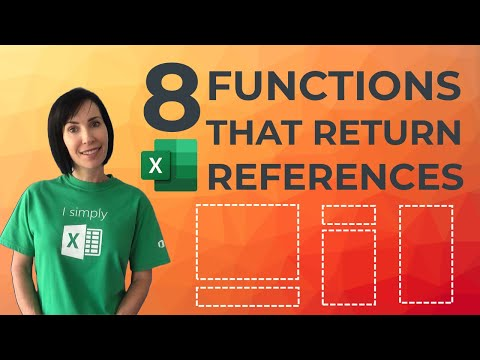 8 Excel Functions that Return References - Do you know them all?