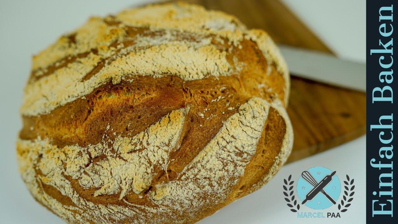 Weizen Sauerteig Brot Wie Vom Bäcker Youtube