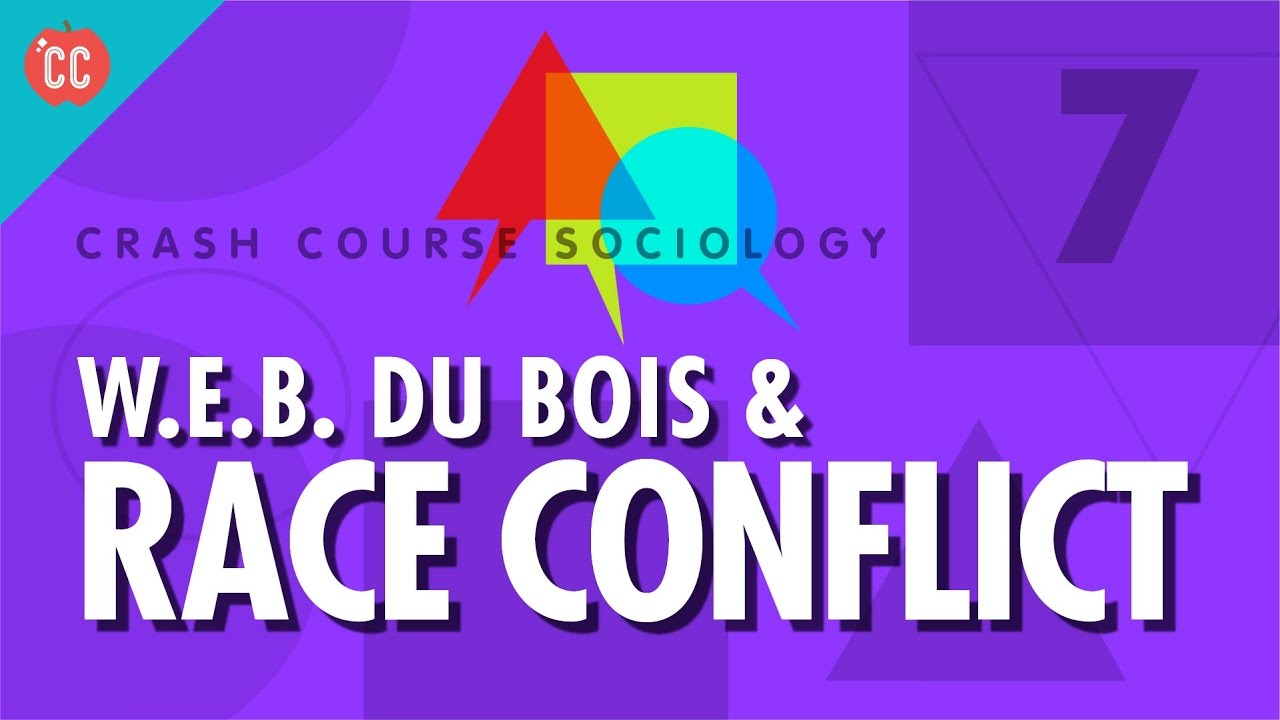 w e b dubois theory on conflict theory