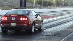 AMAZING 2011 Mustang 5.0 1/4 mile BONE STOCK!!!