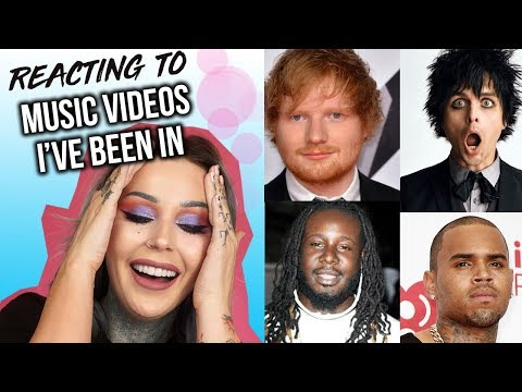 Reacting To Music Videos I've Been In!! SO EMBARASSING   KristenLeanneStyle