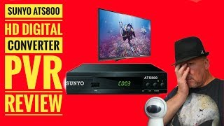 Sunyo ATS800 HD Digital Converter Box PVR Paperwieght Review