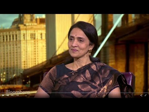 Ms. Chitra Ramkrishna, MD & CEO, NSE on India's Economy, Markets, Investment at Bloombery Market