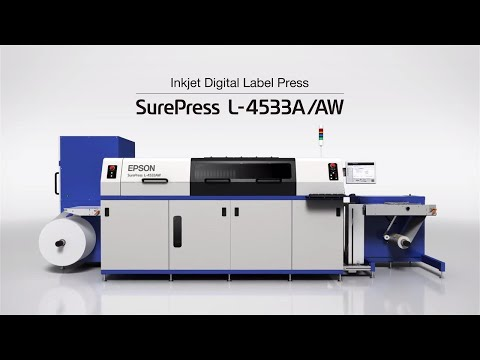 Epson SurePress L-4533AW   Experience the Label & Packaging Digital