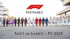 FINSPORTGRAM - Tallit ja kuskit - F1 2020