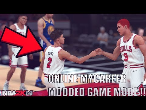 NBA 2K14 MODDED MYCAREER ONLINE !! CRAZY MODDED GAME MODE BETTER THAN NBA 2K18 - 동영상