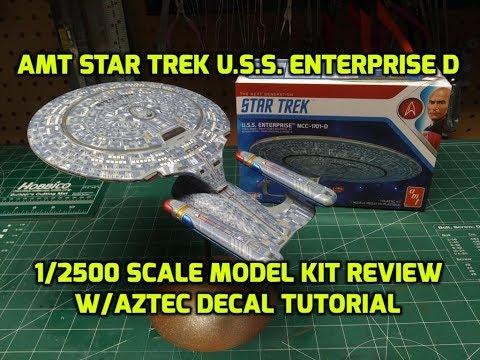 STAR TREK USS ENTERPRISE 1701 C 1//2500 SCALE SNAP MODEL KIT