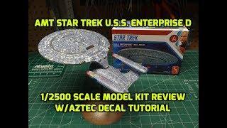 Star Trek U.S.S Enterprise Set 7 Modelle NCC-1701 1:2500 AMT Model Kit AMT954