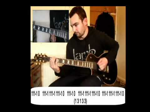 Guitar guitar cover with tabs : Bleed by Meshuggah - Guitar Cover with Tabs - Lesson - YouTube