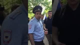 Ростов. Задержание координатора Не царя
