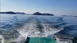 Chạy tàu kéo,du lịch trên những hòn đảo hoang,cực kỳ đẹp.Xin hãy xem 1 lần