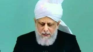 sermon 22 04 2011 - Les hauts niveaux à maintenir dans la Communauté Ahmadiyya
