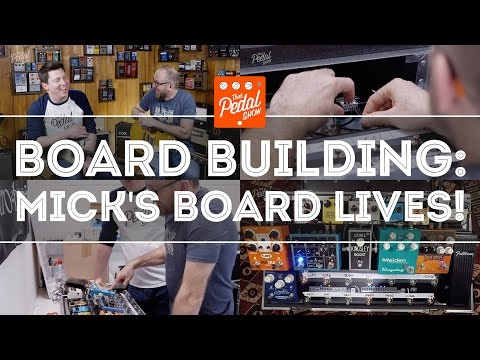 That Pedal Show – Pedalboard Building Special – Mick's Board