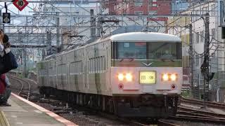 JR東日本185系団体臨時列車@吉祥寺駅・八王子駅(2021/7/10)