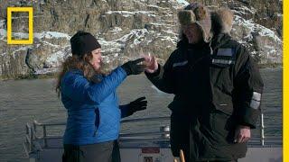 Gordon Ramsay Harvests Glacial Ice Cubes   Gordon Ramsay: Uncharted