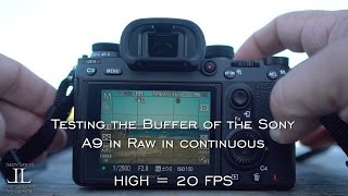 Join Jason Lanier for a test of the Sony A9 with the buffer shootin...