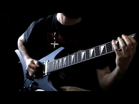 MORBID ANGEL - Altars of Madness (Guitar cover - part 2 )