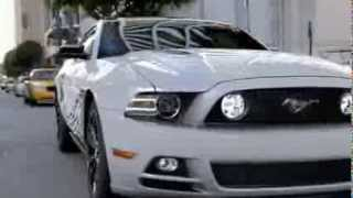 New Ford Mustang trailer