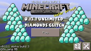 minecraft pocket edition unlimited diamonds glitch 0 12 1 ipod ipad iphone android