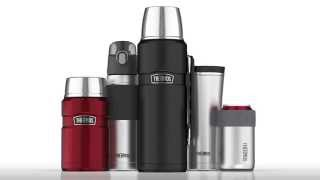Vacuum Bottle ThermoCafe™ by THERMOS® 0.5L video