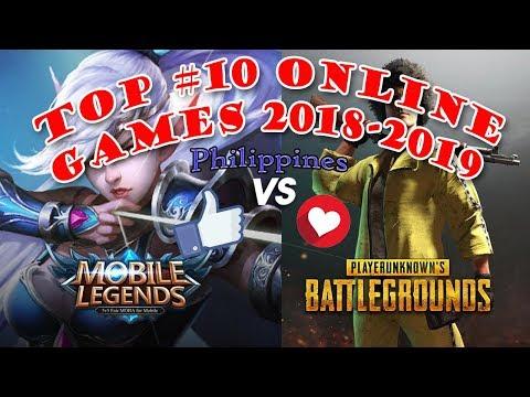 TOP #10 ONLINE GAMES IN PHILIPPINES!! 18-19