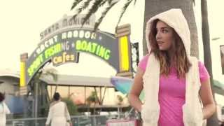 Santa Monica Beach California | On Location with Sandjune Activewear