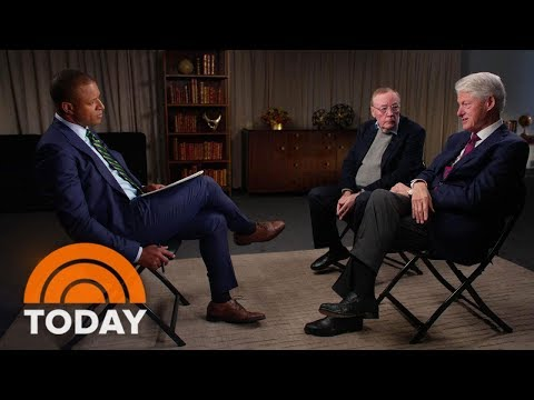 Former President Bill Clinton & James Patterson On MeToo Movement, Monica Lewinsky (Full) | TODAY