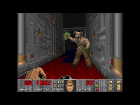 Doom 2 | Relentless Evil | Level 22: Greetings from Hell (Not Too Rough + Commentary)