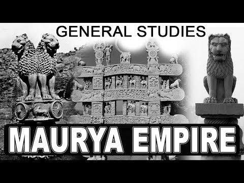 Maurya Empire | General Studies | SSC CGL 2017
